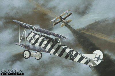 Leutnant Josef Mai by Ivan Berryman. (APB)