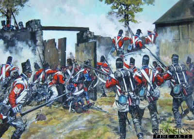 Defence of Hougoumont Farm at the Battle of Waterloo by Jason Askew. (PC)