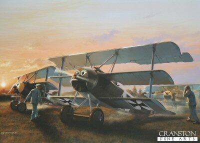 Leutnant Werner Voss by Ivan Berryman. (PC)