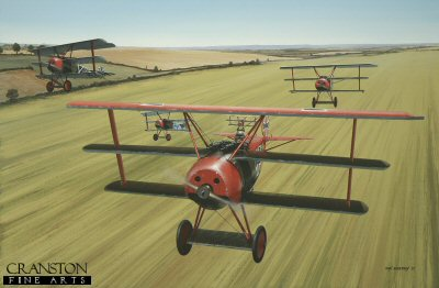 Von Richthofens Flying Circus by Ivan Berryman. (GL)