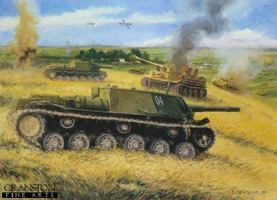 Zwieroboj - Animal Hunters - Ponyri Station, Kursk, 7th July 1943 by David Pentland. (PC)