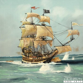 Pirate Ship by Randall Wilson. (GL)