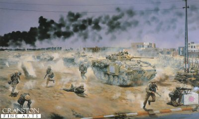 Light Infantry in Iraq by David Rowlands.
