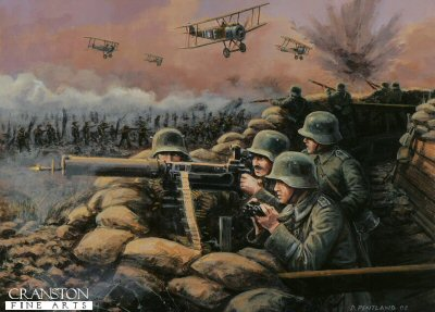 The Machine Guns - Battle of Amiens, France, 8th August 1918 by David Pentland. (PC)