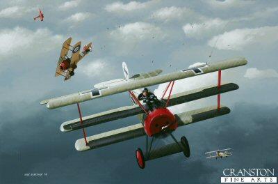 Leutnant Wolfram von Richthofen by Ivan Berryman. (GS)