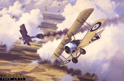 Sopwith Camel�by Anthony Saunders.