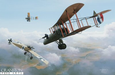 Immelmanns Last Flight by Ivan Berryman. (GL)