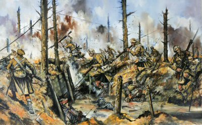 Remember that you are Scottish! Aubers Ridge, 9th May 1915 by Jason Askew.