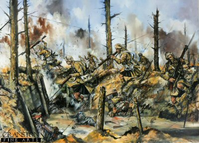 Remember that you are Scottish! Aubers Ridge, 9th May 1915 by Jason Askew. (PC)