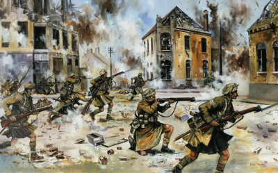 Faster Boys - Give Them Hell! Loos, September 25th 1915 by Jason Askew. (GS)