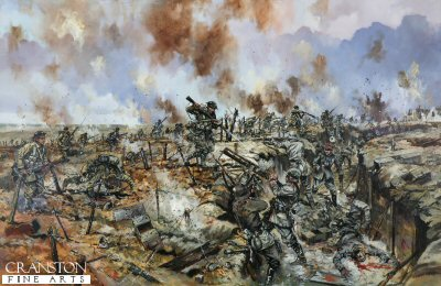 The Battle of the Somme - At the German Trenches by Jason Askew. (P)