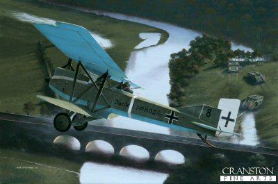 Junkers J.1 by Ivan Berryman. (GS)