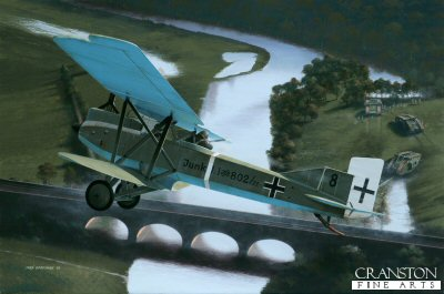 Junkers J.1 by Ivan Berryman. (AP)