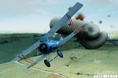 Sous-Lieutenant Willy Coppens � Roasting A Sausage by Ivan Berryman. (C)