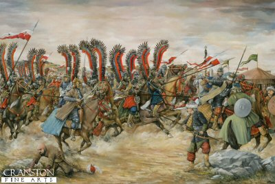 Polish Winged Lancers - Battle of Vienna, September 12th 1683 by Brian Palmer. (AP)