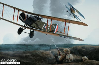 Captain Andrew McKeever and 2nd Lieutenant Leslie Powell by Ivan Berryman. (GS)
