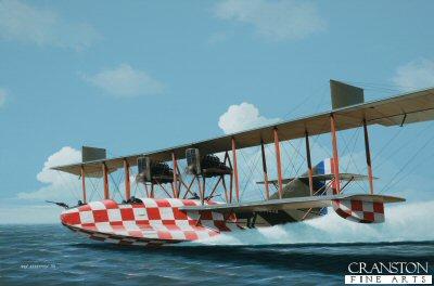 Felixstowe F.3 by Ivan Berryman.