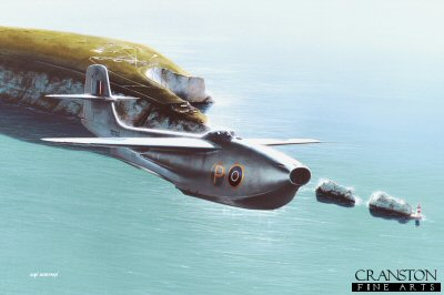 Saro SR.A1 Over the Needles by Ivan Berryman. (GS)