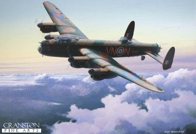 Avro Lancaster B.1 by Ivan Berryman. (GS)
