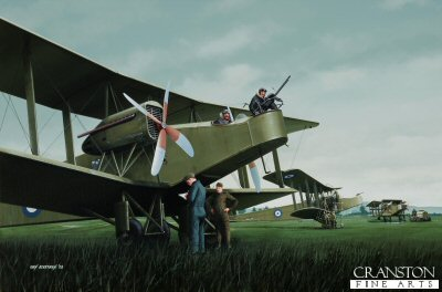 Handley Page 0/400s by Ivan Berryman.