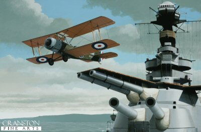Sopwith 1 ½ Strutter by Ivan Berryman. (GS)