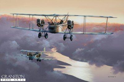 AEG G.IV by Ivan Berryman.