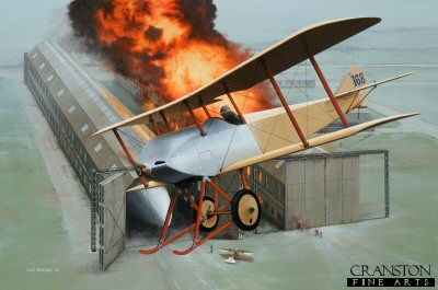 Flight Lieutenant R L G Marix by Ivan Berryman. (AP)