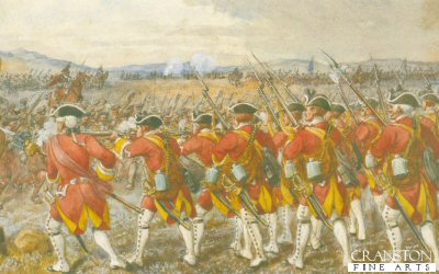The Battle of Culloden by Richard Simkin.