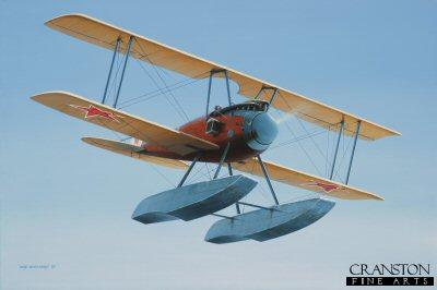 Albatros W.4 by Ivan Berryman.