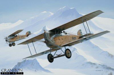 F Korty-Lalitz, Aviatik D.1 by Ivan Berryman. (RM)