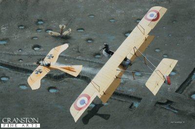 Farman F.40 by Ivan Berryman. (P)