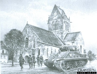St Mere Eglise by Richard Taylor.
