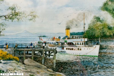 Maid of the Loch by Robert Barbour. (P)