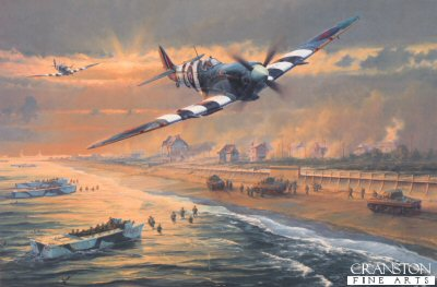 Juno Beach by Anthony Saunders.