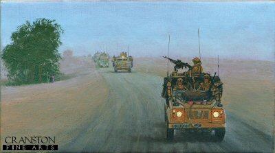 WMiK Convoy Protection - Afghanistan by Graeme Lothian.