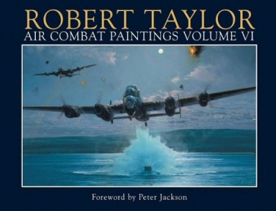 Air Combat Paintings Volume VI by Robert Taylor.