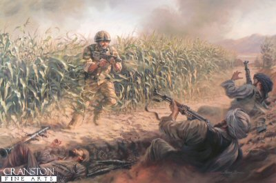 Cpl Bryan Budd VC by Stuart Brown.