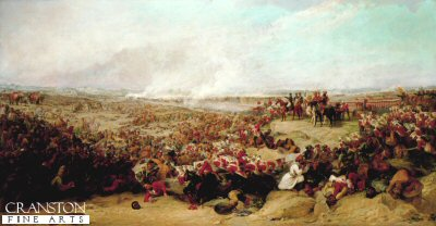 Battle of Meanee, (17th February 1843) by George Jones.