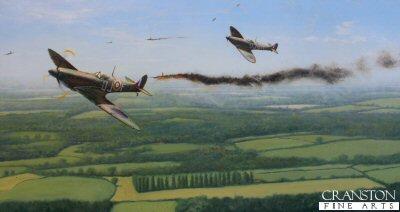 Spitfires Over Kent by Graeme Lothian. (GL)