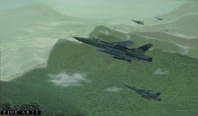 Pinnacle Reached - 100th Mission of Major Bob Krone by Brian Bateman.