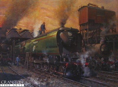 Winston Churchill�by Terence Cuneo.