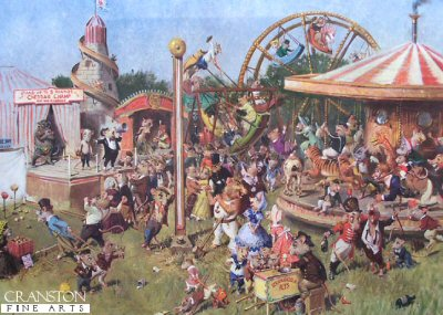 The Cheese Fair by Terence Cuneo.
