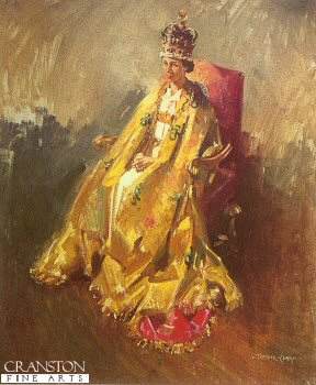 Coronation Study by Terence Cuneo.