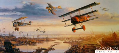 Richthofens Flying Circus by Nicolas Trudgian. (B)