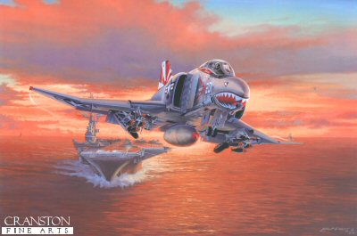 Launch at Sundown by Philip West.