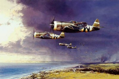 Thunderbolt Strike by Robert Taylor.