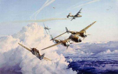 Hostile Sky by Robert Taylor