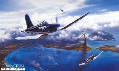 Gunfight Over Rabaul by Nicolas Trudgian