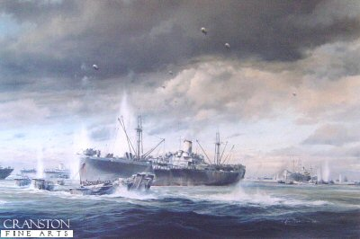 D-Day Normandy Landings by Robert Taylor.