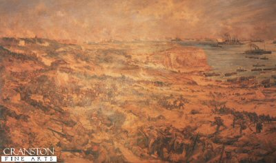 Gallipoli by Charles Dixon.